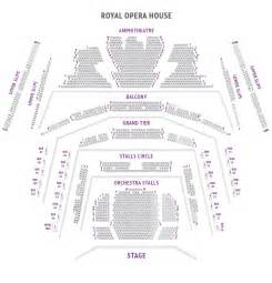 Opera House Manchester Seating Plan Royal Opera House Theatre