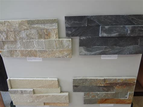 Stone Veneer Kitchen Backsplash by Stacked Stone Tile Exteria Stacked Stone Stacked Stone