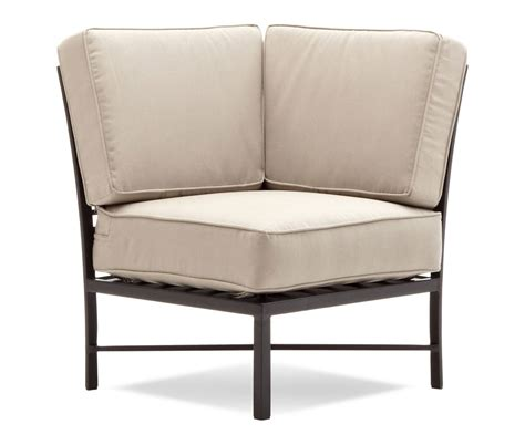 Sectional Corner Chair by Strathwood Sectional Corner Chair Garden Outdoor