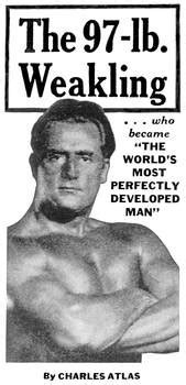 97-lb. Weakling -- Charles Atlas ad by Arcanium Antiques