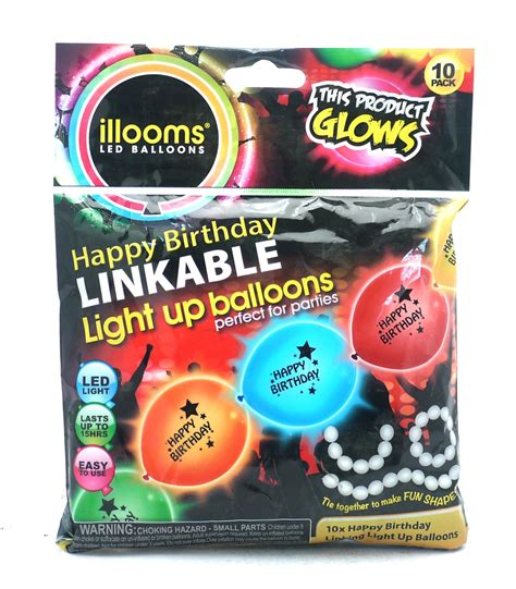 light up party favors illooms light up balloons led party balloon glow event
