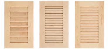 Louvered Kitchen Cabinet Doors cove raised panel cabinet door plans cabinet doors