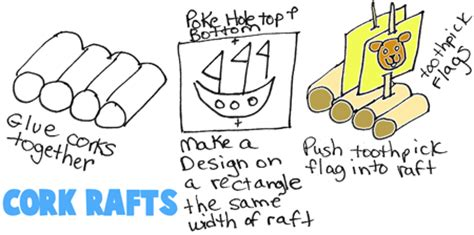 How To Make A Paper Raft - boat crafts for ideas to make boats ships with