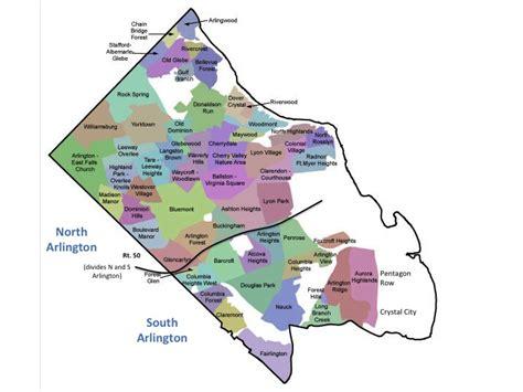 arlington crime map vs south arlington in virginia town advisor