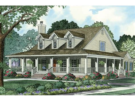 homes with wrap around porches country style casalone ridge ranch home southern country style home with