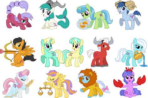 my little pony zodiac pony horoscopes my little pony friendship is magic