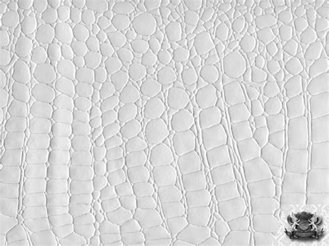 Animal Print Upholstery Fabric crocodile vinyl white fabric faux leather upholstery ebay