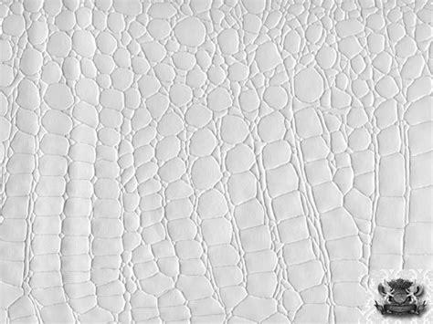 Cotton Upholstery Batting Crocodile Vinyl White Fabric Faux Leather Upholstery Ebay