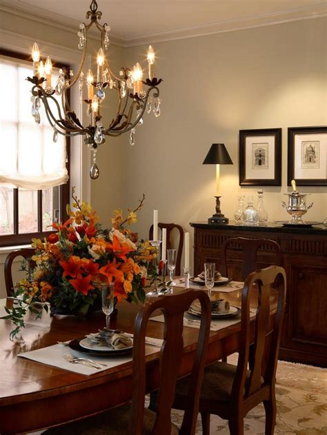 traditional dining room with classic accents hgtv