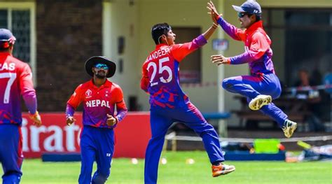nepal achieve odi status after beating png in icc cricket world cup qualifier the indian express
