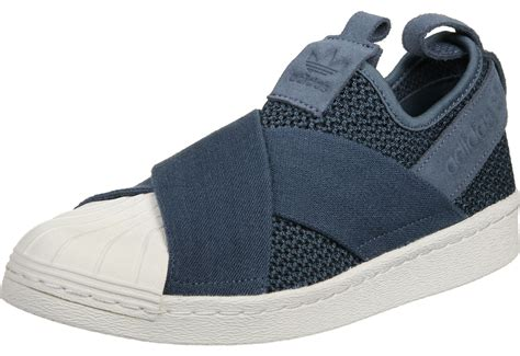 Adidas Slip On Blue adidas superstar slip on w shoes blue