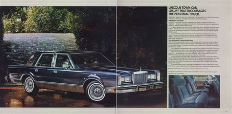 old car manuals online 1984 lincoln continental regenerative braking directory index lincoln 1984 lincoln 1984 lincoln brochure