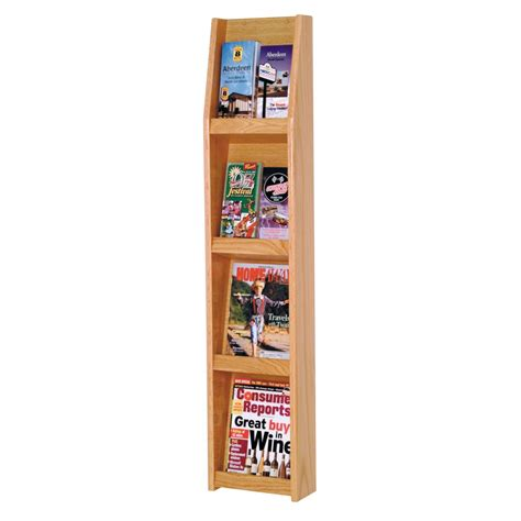 Vertical Magazine Rack by 16 Appealing Vertical Magazine Rack Image Ideas