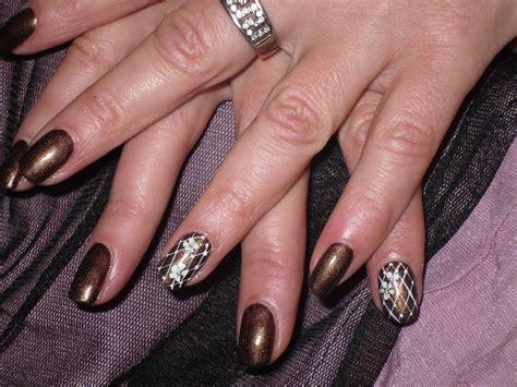 pose ongle en gel nail pose d ongles en gel r 233 sille fleurie