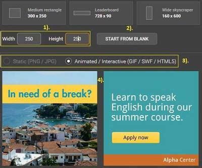 membuat banner iklan online cara buat banner iklan keren online di blog tanpa software