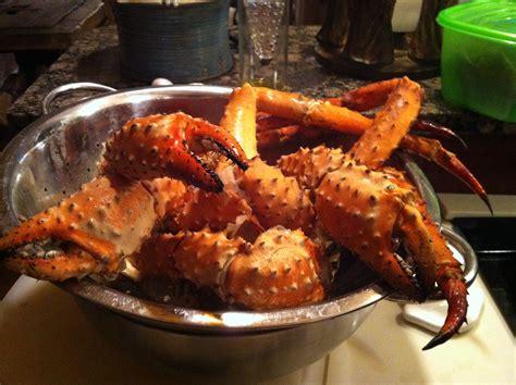 friday night dinner king crab leg boil 171 forkmeetspoon