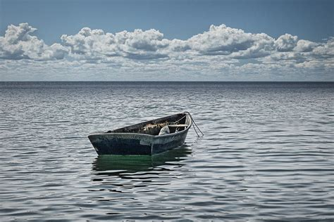 on a boat at sea maine boat looking out to sea photograph by randall nyhof