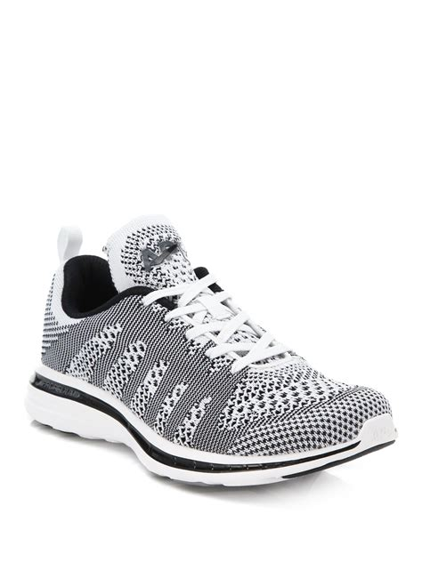 do athletic propulsion labs shoes work athletic propulsion labs techloom pro knit sneakers in