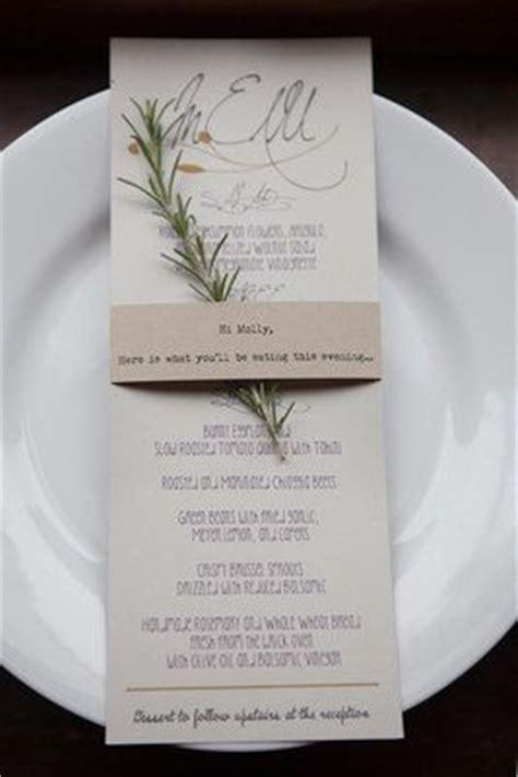 unique wedding menu ideas blossom