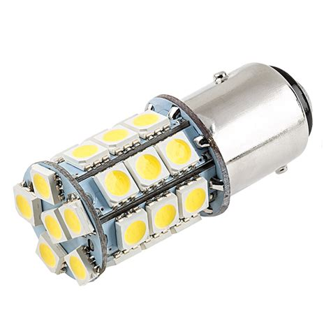 1157 Led Bulb Dual Function 27 Smd Led Tower Bay15d Led Stop And Light Bulbs
