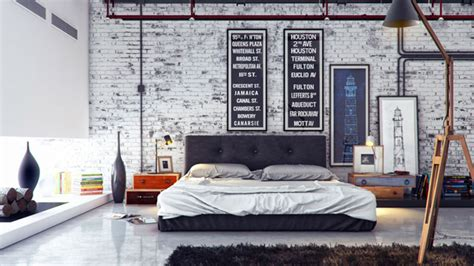 Interior Design Room 15 industrial bedroom designs home design lover