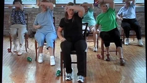 armchair aerobics stronger seniors chair aerobic exercise video for seniors