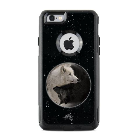otterbox commuter iphone  case skin wolf zen  michael mcgloin decalgirl