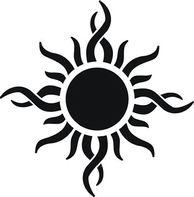 tribal suns tattoos 46 most amazing tribal sun designs patterns