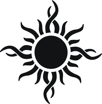 tribal suns tattoos 46 most amazing tribal sun designs patterns