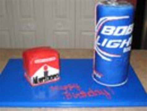 bud light can bud light can and marlboro cakecentral com
