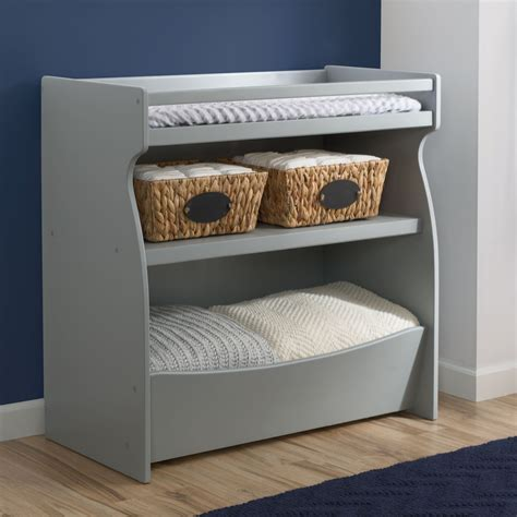 Changing Table Storage Delta Children 2 In 1 Changing Table Storage Unit Grey