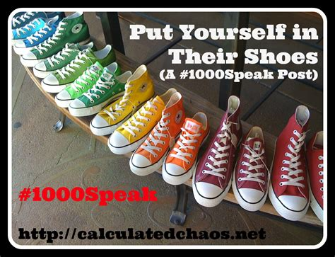 Posts To Put You In Shoe Heaven by Put Yourself In Their Shoes A 1000speak Post