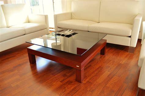 glänzende teppiche design couchtisch v 570h kirschbaum get 246 ntes glas carl