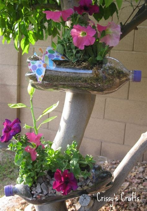genius in a bottle pet bottle vertical garden s o paulo 16 genius diy recycled plastic bottle gardens you need to see