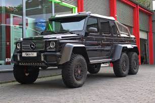 Mercedes G63 6x6 For Sale Black Mercedes G63 Amg 6x6 For Sale Gtspirit