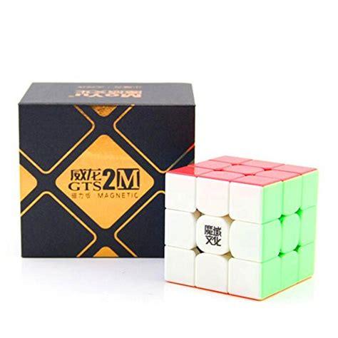Rubik 3x3 Moyu Weilong Gts V2 Stickerless Mo Yu Gts2 2 cuberspeed moyu weilong gts2 m stickerless 3x3 magic cube magnetic moyu weilong gts v2 m color