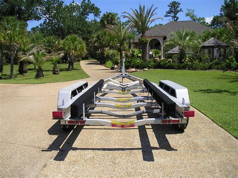 boat trailer triple axle used sold 2007 continental triple axle alum hd boat