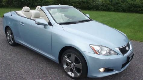 Lexus Is250 For Sale By Owner by 2010 Lexus Is250c Convertible For Sale One Owner Loaded