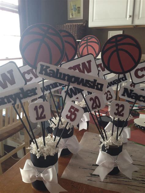 football banquet centerpiece ideas 17 best ideas about sports banquet centerpieces on