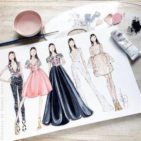 qut fashion illustration course kiedyś moim hobby było projektowanie ubrań teraz został