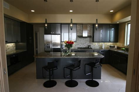 bachelors kitchen sleek bachelor pad
