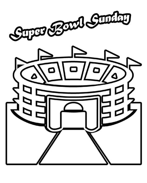 super bowl coloring page 2016 superbowl coloring pages az coloring pages
