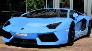 Lamborghini Gallardo Light Blue Arab Baby Blue Aventador From Bahrain In Cannes