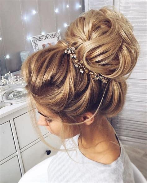 wedding day buns wedding hair beauty photos by bridal fryzury ślubne z wysokim kokiem piękna fryzura dla panny