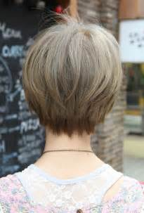short hair styles back view bakuland women man