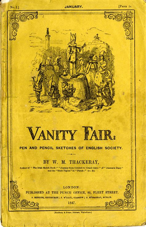 Vanity Fair Thackery by Vanity Fair Novel