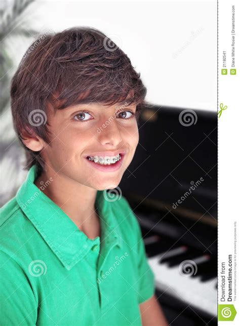young cute boys with braces cute boy with braces stock image image of child toothy