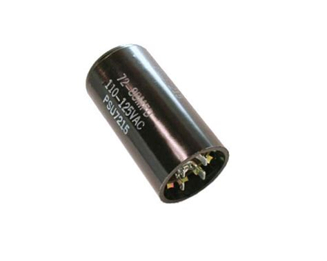 motor start capacitor mallory psu7215 mallory capacitor 72uf 110v application motor