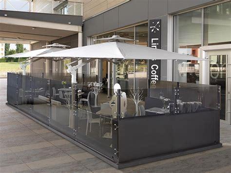 gazebo da esterno per bar gazebo in alluminio e vetro dehors cagis