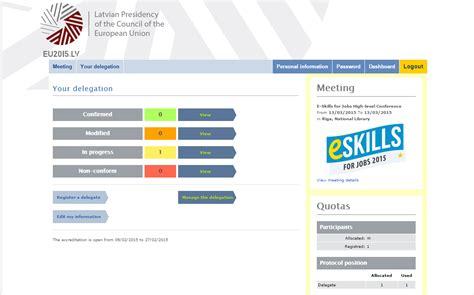 e skills for 2015 latvia how to register